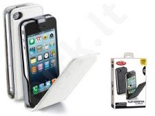 Apple iPhone 5 dėklas FLAP ESSEN Cellular baltas