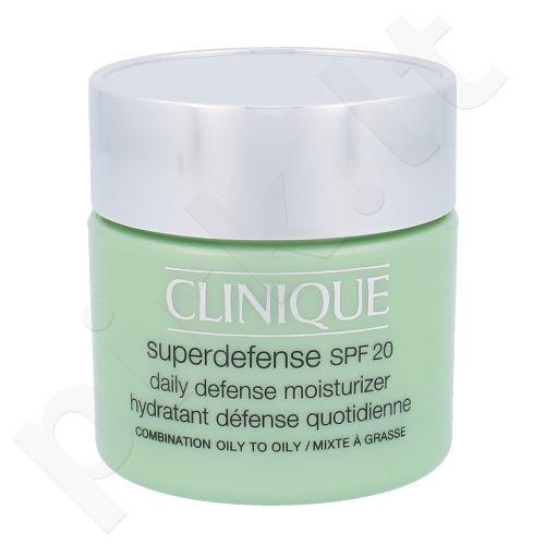Clinique Superdefense SPF20 Drėkinamasis mišriai  veido odai, kosmetika moterims, 75ml
