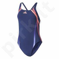 Maudymosi kostiumėlis Adidas Rubber-Printed Swimsuit Infinitex® W BR5724
