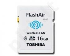 Atminties kortelė Toshiba SDHC 16GB CL10 Flash Air Wifi SD Card