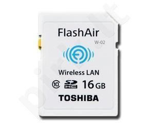 Atminties kortelė Toshiba SDHC 16GB CL10 Flash Air Wifi SD Card