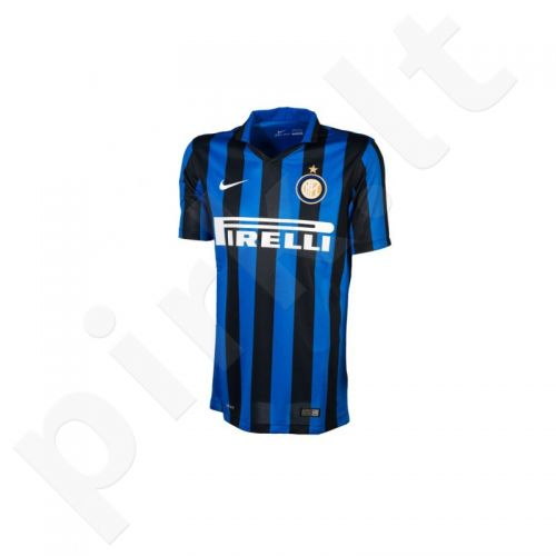 Marškinėliai futbolui Nike Inter Mediolan Junior 659051-011