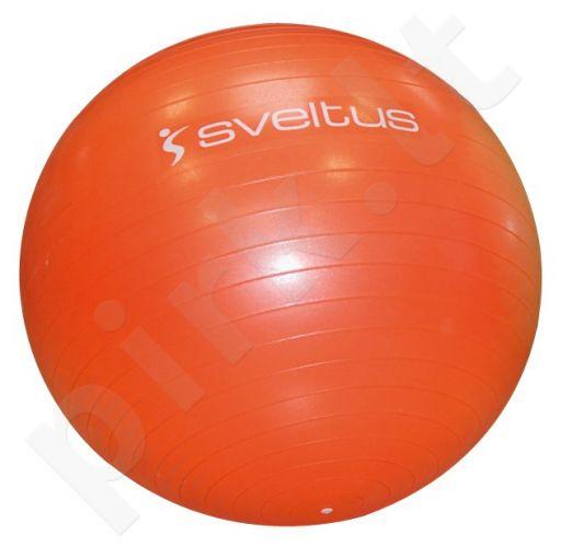 Gimnastikos kamuolys GYMBALL 55cm orange+pakuotė