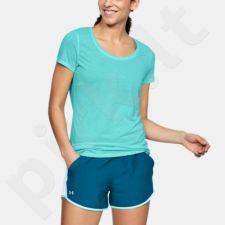 Marškinėliai bėgimui  Under Armour Streaker Shortsleeve W 1271517-425