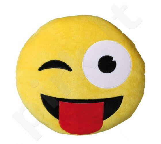 """Pliušinė pagalvė """"Šypsenėlė"""""""