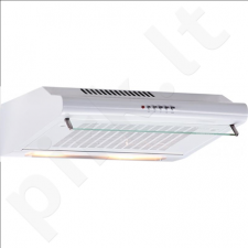 Cata P-3060 WH Extractor hood/ 190 kub.m/h (UNE/EN 61591)/ Push Button Control/ 3 extraction levels/ EC D