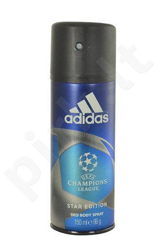Adidas UEFA Champions League Star Edition, dezodorantas vyrams, 150ml