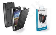 LG L5 II dėklas FLAP ESSEN Cellular juodas