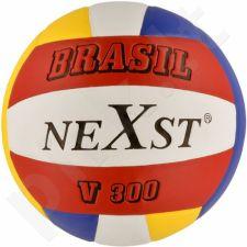 Tinklinio kamuolys Nexst Brasil V300 su tinkleliu i igłą