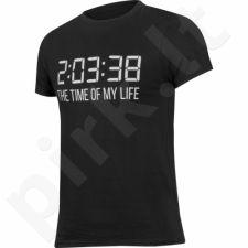 Marškinėliai Outhorn Message Tee Time M HOL17-TSM601 juoda