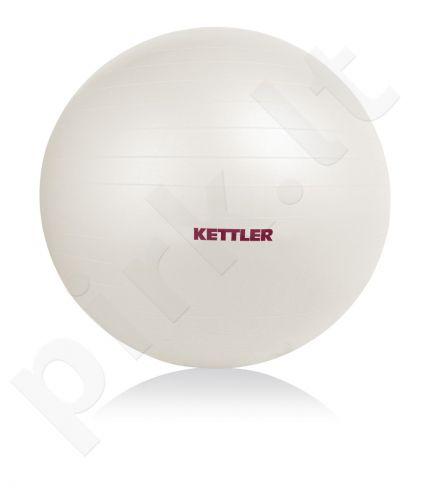 Gimnastikos kamuolys GYMNASTICS BALL BASIC 65cm pearl