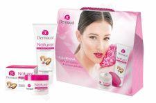 Dermacol Natural Almond, rinkinys dieninis kremas moterims, (Daily Facial Care 50 ml + rankų kremas 100 ml)