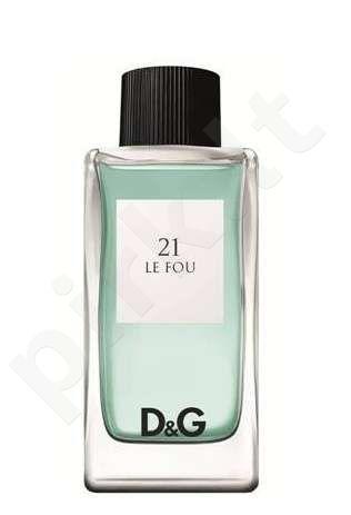 Dolce & Gabbana Le Fou 21, tualetinis vanduo (EDT) vyrams, 100 ml