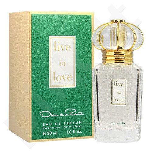 Oscar de la Renta Live in Love, kvapusis vanduo (EDP) moterims, 50 ml