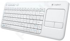Logitech Wireless Touch Keyboard K400 Plus white (US International)