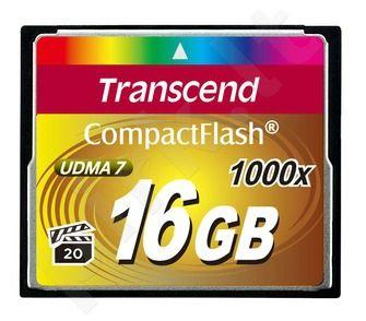 Atminties kortelė Transcend CF 16GB, 1000x
