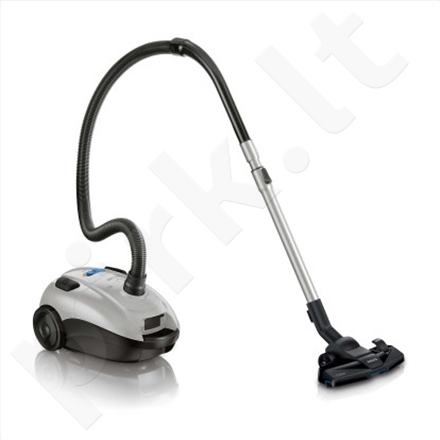 "PHILIPS FC8459/91 PowerLife Bag vacuum cleaner, TriActive nozzle, 3L dust capacity ""S-bag"", Gray"