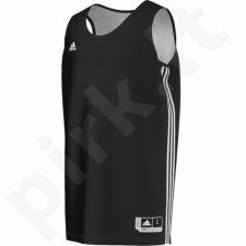 Marškinėliai krepšiniui Adidas Practice Reversible M E71815