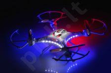 Radio bangomis valdomas Jamara Catro AHP+ dronas su HD kamera