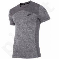 Marškinėliai treniruotėms 4F M T4Z16-TSMF002 pilkas