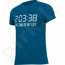 Marškinėliai Outhorn Message Tee Time M HOL17-TSM601 mėlyna