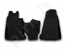 Guminiai kilimėliai 3D FORD Transit 2006-2014, 2 pcs. /L19098