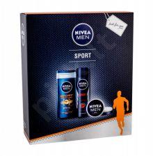 Nivea Men Sport, rinkinys dušo želė vyrams, (Anti-perspirant 150 ml + dušo želė 250 ml + Universal Men Creme 30 ml)