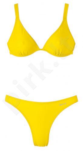 Maudymosi bikinis moterims 81030 2 44 yellow