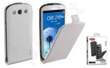 Samsung Galaxy S3 dėklas FLAP ESSEN Cellular baltas