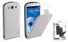 Samsung Galaxy S3 dėklas FLAP ESSEN Cellular baltas