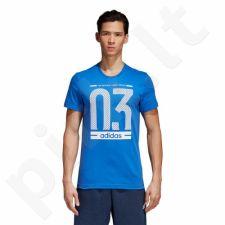 Marškinėliai adidas Number 03 M CW3613
