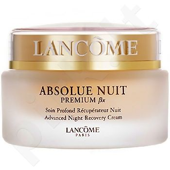 Lancome Absolue Nuit Premium Bx Advanced naktinis kremas, 75ml, kosmetika moterims