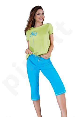 Babella pižama mėlynos-salotinės spalvos 3017 (limituota versija)