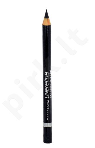 Maybelline Line Refine, Expression Kajal, akių kontūrų pieštukas moterims, 4g, (40 Silver Gray)