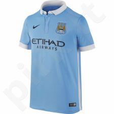 Marškinėliai futbolui Nike Manchester City FC Home Stadium Junior 659081-489
