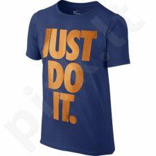 Marškinėliai Nike Just Do It Junior 807308-480