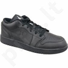 Sportiniai bateliai  Nike Jordan Air 1 Low Bg M 553560-006 juoda