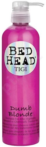 Tigi Bed Head Dumb Blonde šampūnas, kosmetika moterims, 750ml