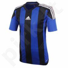 Marškinėliai futbolui Adidas Striped 15 M S16140