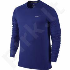 Marškinėliai bėgimui  Nike Dri-FIT Miler M 683570-455