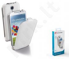 Samsung Galaxy S4 dėklas FLAP Cellular baltas