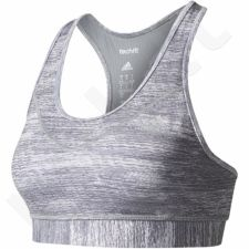 Sportinė liemenėlė  Adidas Techfit Bra Heather-Print W BK2581