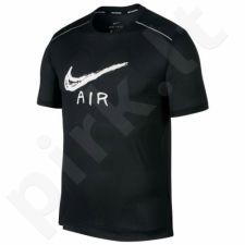 Marškinėliai bėgimui  Nike Miler Cool Ss Gx Hbr M AQ6847-010