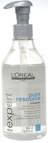 L´Oréal Professionnel Série Expert, Pure Resource, šampūnas moterims, 500ml