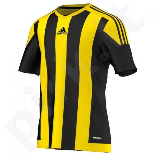 Marškinėliai futbolui Adidas Striped 15 M S16143