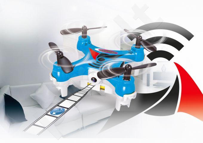 Radio bangomis valdomas Jamara MiCoSpy AHP+ dronas su kamera