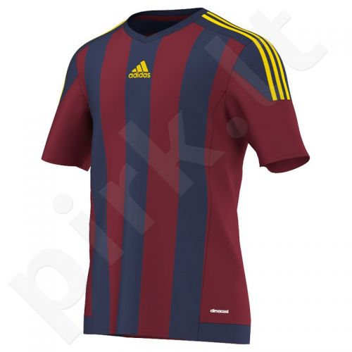Marškinėliai futbolui Adidas Striped 15 M S16141