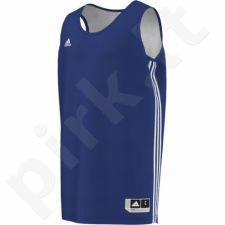 Marškinėliai krepšiniui Adidas Practice Reversible M E71814