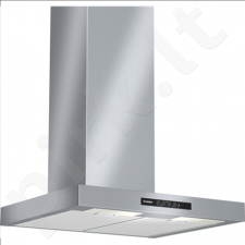 Bosch DWB06W652 Chimney hood, 60cm, 640kub.m/h (DIN/EN 65191), 3 Speeds, 2xhalogens, EC D, Stainless steel