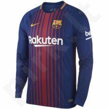 Marškinėliai futbolui Nike Breathe FC Barcelona Stadium Jersey M 847252-456